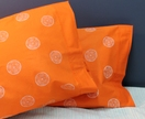 Tangerine Dreamy Pillowcases - Pair