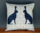 Cushion - Harriet and Horatio the midnight Hares