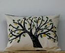 Kowhai Tree Cushion
