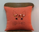 Crystabel the Cat - Cushion