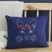 Flower Power Cat - Cushion