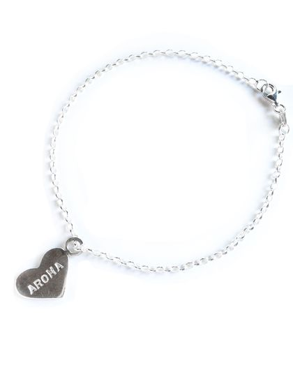 Aroha Heart Bracelet in Sterling Silver