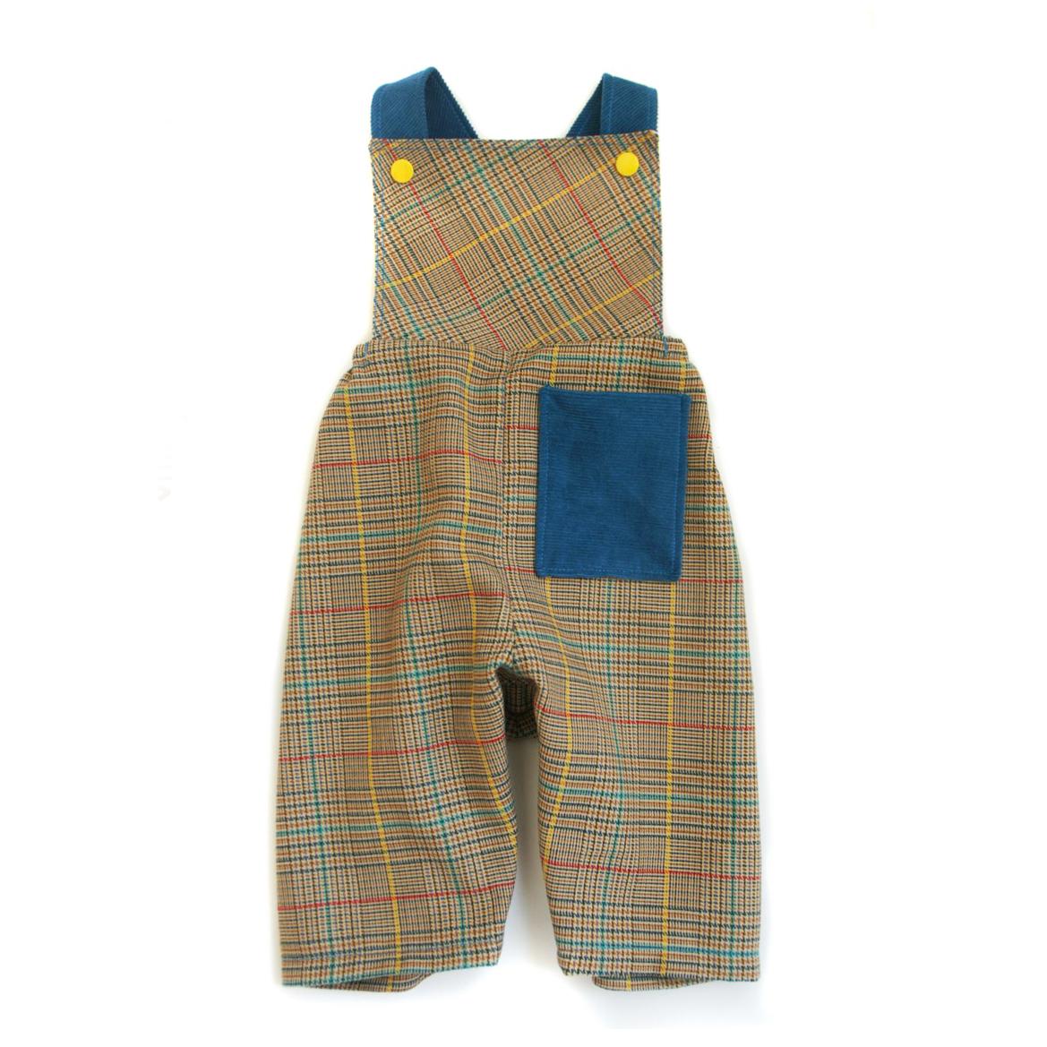 Vintage Romper Suspender Style Overalls For Baby Felt