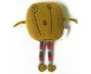 I Miss You - Knitted monster in charcoal merino