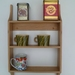 Small Oak Shaker style shelf