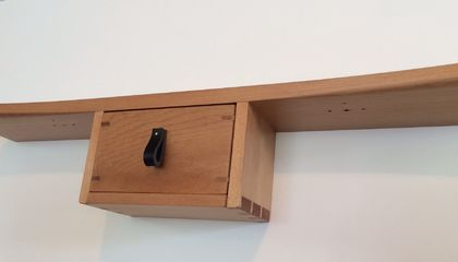 Floating Zen Shelf In Recycled Kauri Felt