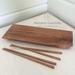 Pohutakawa Sushi Board and Chopsticks