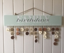 Wooden Birthday Board
