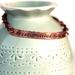Tori Amos lyric // Stamped copper bracelet // Made to order