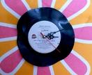Vinyl record clock (Frank Sinatra)