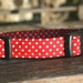 Handmade dog collar - small size