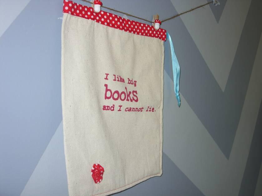 I Like Big Books Library Book Bag!