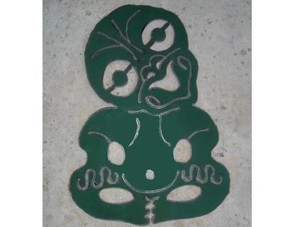 Kiwiana Garden Art TIKI