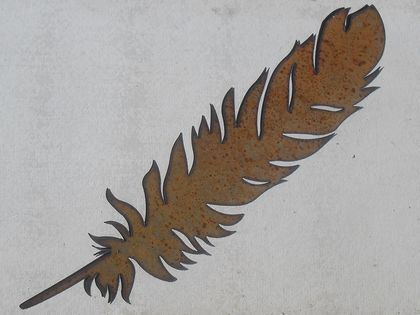 Kiwiana Garden Art XTRA LARGE FEATHER