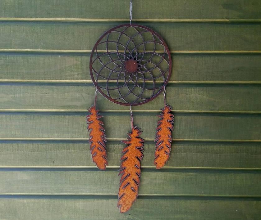 Kiwiana Garden Art DREAMCATCHER