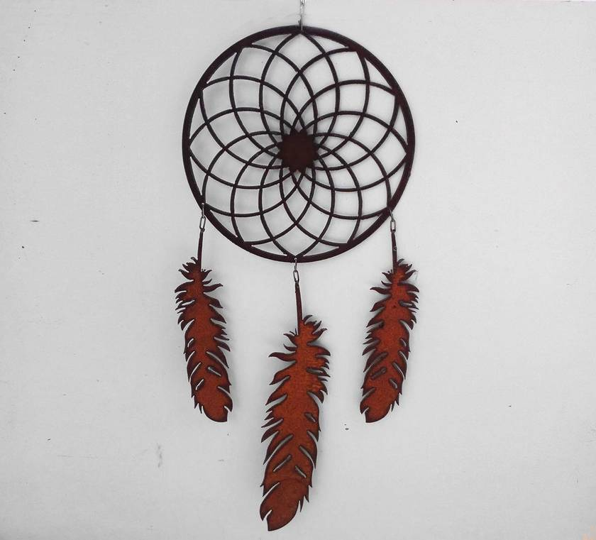 Kiwiana Garden Art DREAMCATCHER
