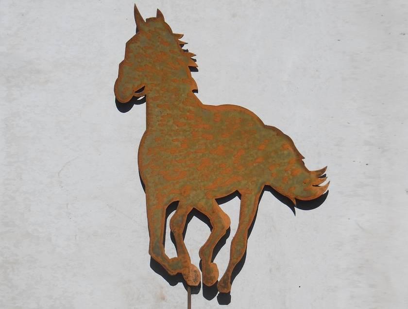 Kiwiana Garden Art HORSE