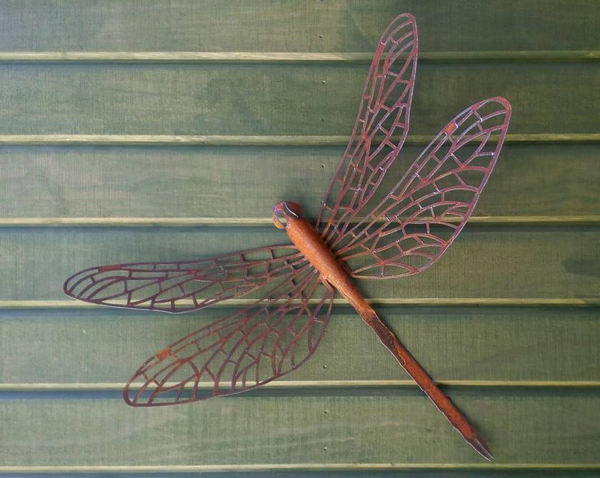 Kiwiana Garden Art DRAGONFLY