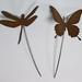 Kiwiana Garden Art BUTTERFLY & DRAGONFLY SPIKES