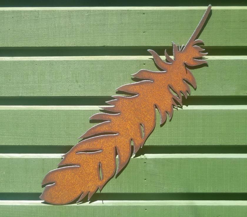 Ironweed LARGE FEATHER