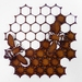 Ironweed HONEYCOMB WITH BEES - small