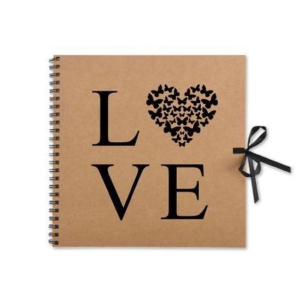 Rustic Love Kraft Book