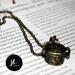 Prayer Box Charm Necklace