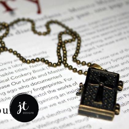 Wish Box Charm Necklace