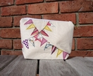 Bunting Bag (for make-up/toiletries/jewellery)