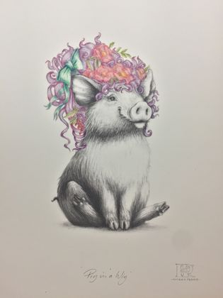 """Pig in a Wig"""