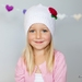 Beautiful Rose Beanie (Made to Order)