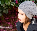 Basketweave Sloucher Hat - 5 Years to Adult (Your Choice of Colour)
