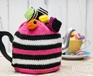 Licorice Allsorts Tea Cosy (Your Choice of Colour)