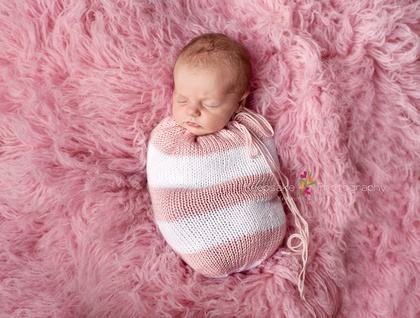 Snuggle Sack for use as Photography Prop (Your Choice of Colours)