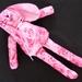 Pink Rose Bunny