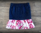 Rose Frill Skirt - Size 5 years