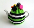 Licorice Allsorts Tea Cosy (Green)