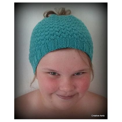 Messy Bun Hat (Made to Order)