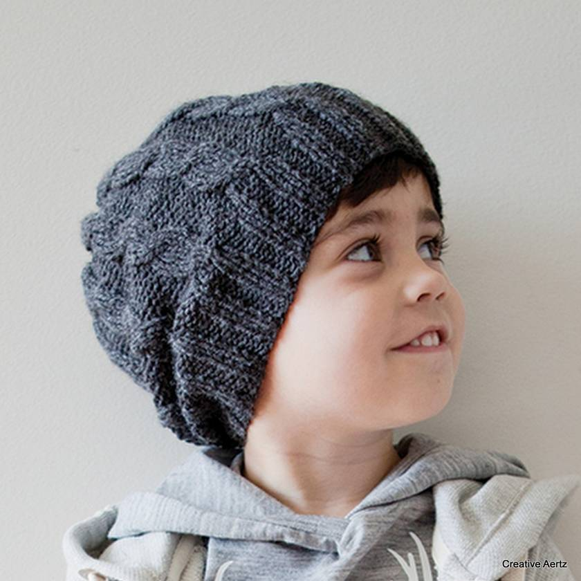 Knitted Cable Hat (Made to Order)