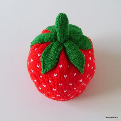 Delicious Strawberry Hat (Made to Order)
