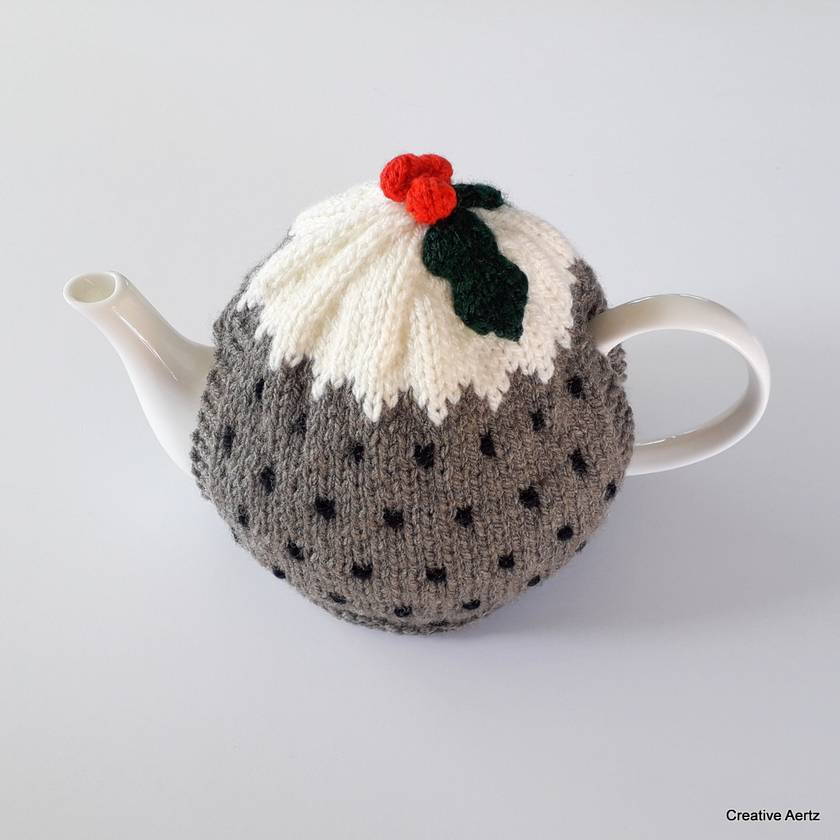 Christmas Pudding Tea Cosy (Small)