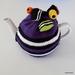 Licorice Allsorts Tea Cosy - Purple (Medium)
