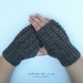 Fingerless Cable Gloves - 100% Wool (Made to Order)