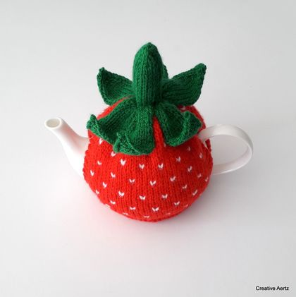 Strawberry Tea Cosy (Small)