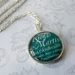 Custom Made 'Name, Birthday & Quote' Necklace