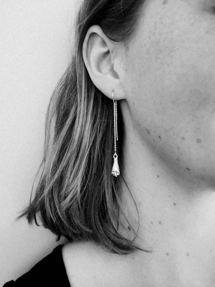 Kowhai Threader Earrings
