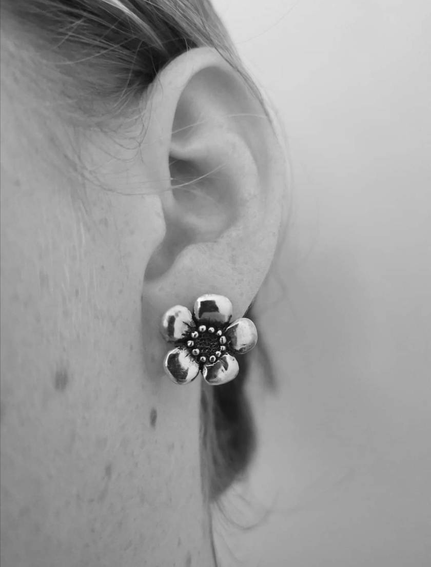 Manuka Blossom Studs - First Release Price
