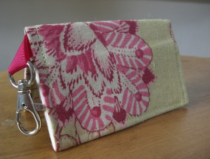 Fabric business/loyalty card holder.