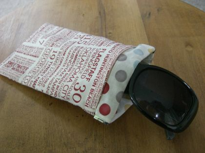 Padded Sunglasses Case