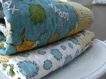 "'THE LORAX"" Quilt"